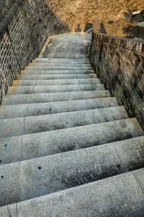 惠州朝京门的台阶