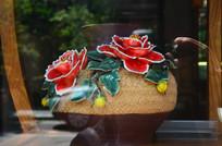 花卉雕塑艺术品