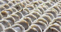 手工制作的饺子