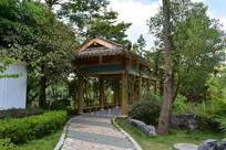 五象湖公园凉亭小径