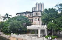 校区住宅建筑风景图片
