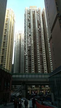 贵阳花果园半山小镇密集的高楼