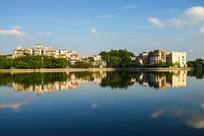 惠州菱湖湖边风光