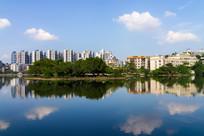 惠州菱湖景色