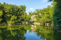 惠州菱湖乡村景色