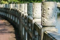 惠州西湖边的围栏