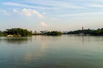 惠州西湖风景区平湖景色