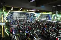 健身房动感单车房