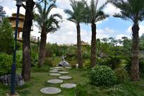 五象湖公园石墎小径园林