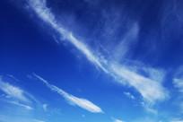 碧空缥缈的云彩