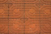地面方砖纹理