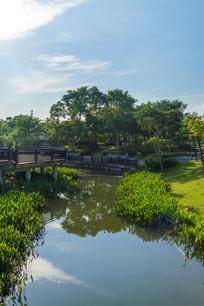 横槎小隐公园的景色