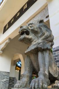 惠州西湖小北门的石狮