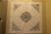 苗族蜡染方巾