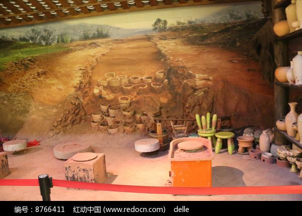 土陶制作作坊图片
