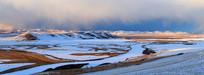 冰封的额尔古纳河(全景高清)