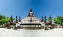 敦化六鼎山佛教建筑