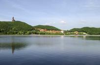 敦化六鼎山湖水