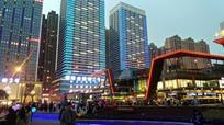 花果园金融街夜景