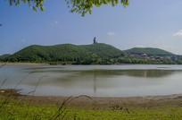 吉林敦化六鼎山全景