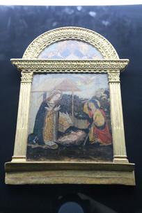 罗马尼亚金色罗马拱门油画