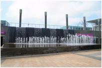苏州建筑馆水池