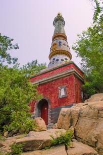颐和园宝塔建筑