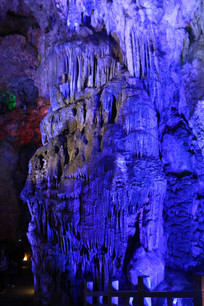 罗马石柱般的岩石造型