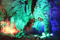 银子岩天然拱门岩石