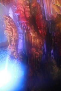 银子岩眼镜王蛇石柱