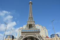 澳门巴黎人巴黎铁塔远观