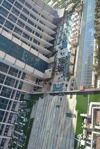 澳门金沙城酒店的架空层