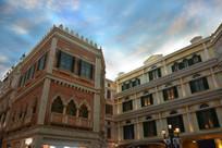 澳门威尼斯人的商业街
