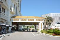 澳门银河酒店的大堂入口