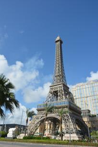 恢弘的澳门巴黎人巴黎铁塔