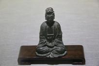 明代观音铜坐像
