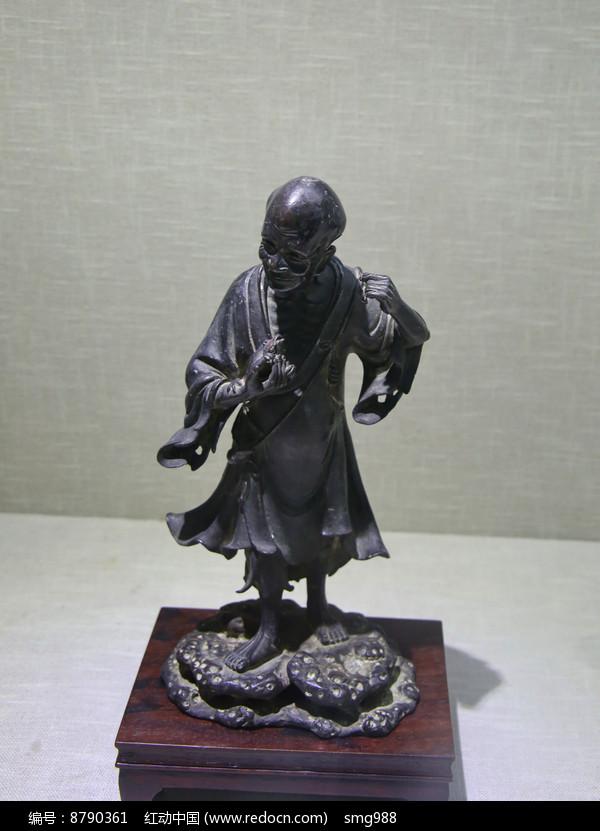 明代刘海戏金蟾铜像图片