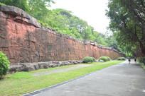 广州雕塑公园雕塑墙