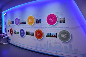 广州地铁博物馆历程文化墙