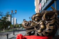 中國龍雕塑