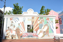 澳门渔人码头城市广场墙绘