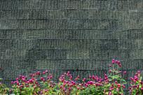 千日红瓷砖背景墙