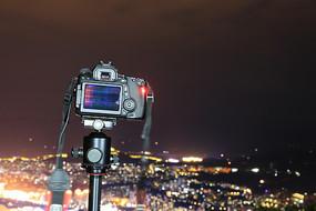 摄影中的单反相机