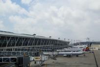 机场停机坪航班