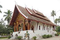 老挝寺庙建筑摄影