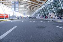 浦东国际机场出发层