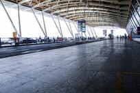 浦东机场出入口