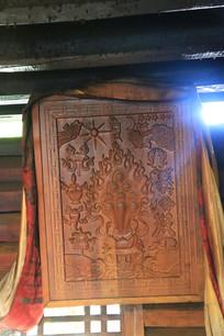普米族的宗教木刻作品