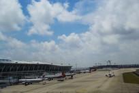停机坪客机