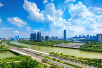 郑州东区城市风光